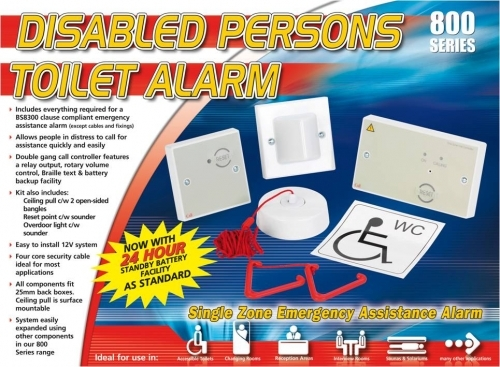 Disabled Person Toilet Alarms