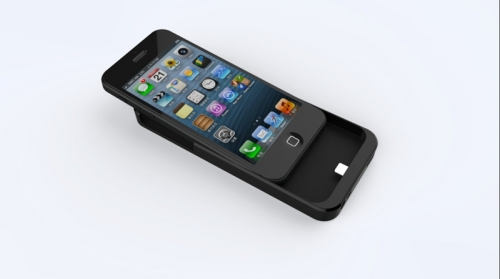 QI wireless charging receivers for iPhone 4 & 5