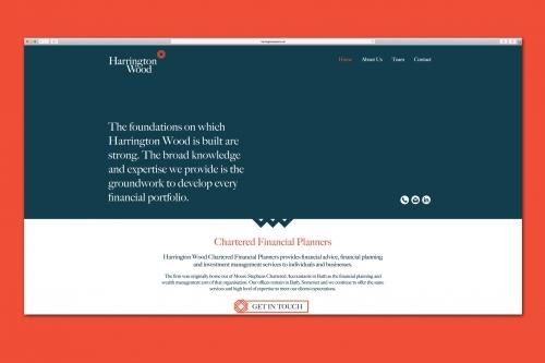 Harrington Wood Website Design, Bath Somerset