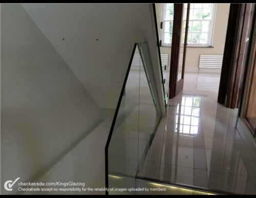 Glass Bannisters