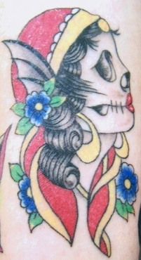 West Coast Tattoos' Colour work by Blan. Old School.