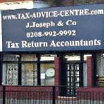 Offices Of J Joseph Co Accountants In Ealing London W5 3lb England