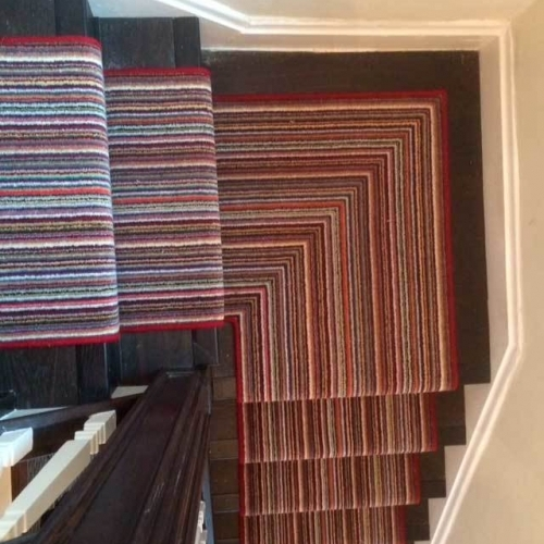 Striped Modern Carpet
