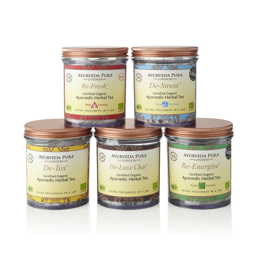 Award Winning Ayurvedic Teas