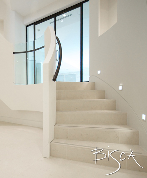 Custom Made Stone Staircases