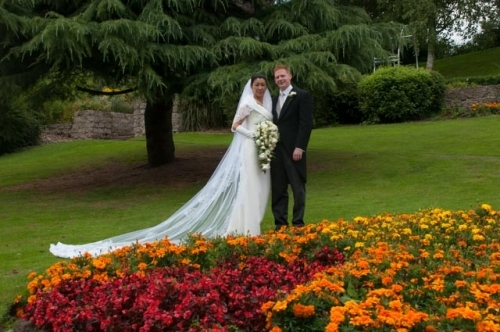 Wedding in Whitchurch Jubilee Park