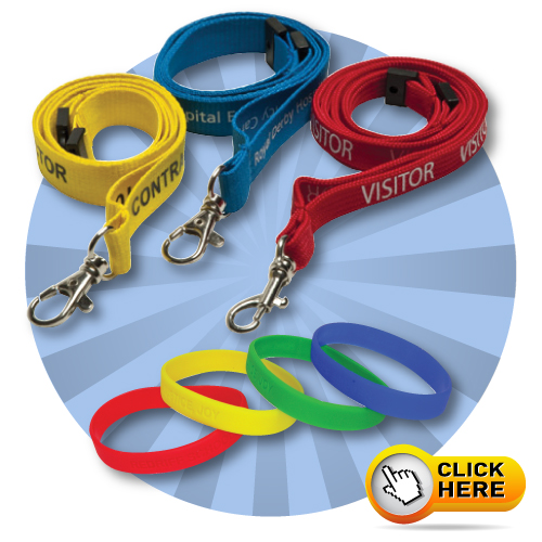 Lanyards and Wristbands
