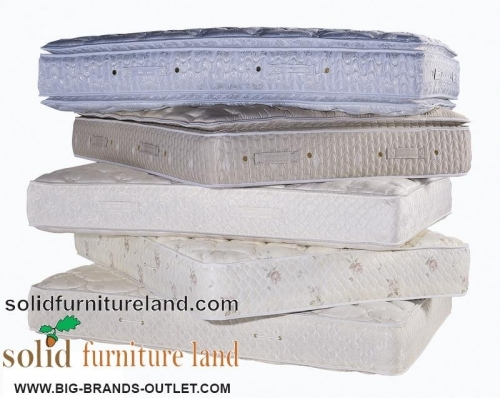 Wide range of mattresses