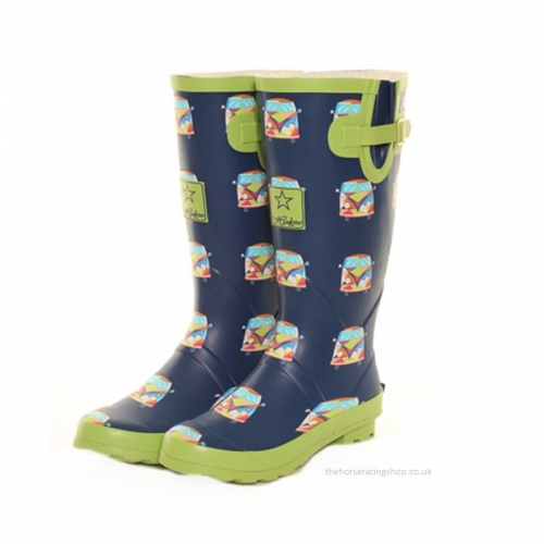 Ladies Campervan Wellington Boots