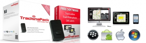 Complete GPS tracking system, no monthly contract