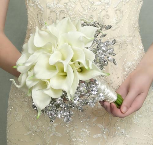 A calla lily bridal bouquet