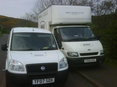 MWAV Fleet of Vans. Man with a van Edinburgh Ltd.