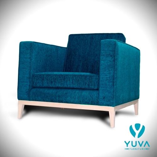 Jenga Chair Turquoise