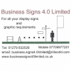 Business Signs 4.0 Limited Logo