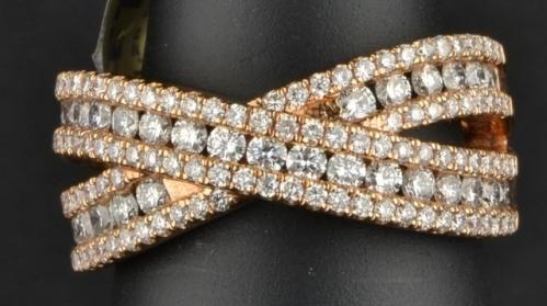 Diamond Multi-stone 18ct Rose Gold