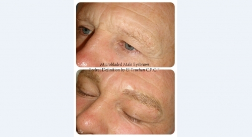 Male Eyebrows Microblading By El Truchan @ Perfect Definition