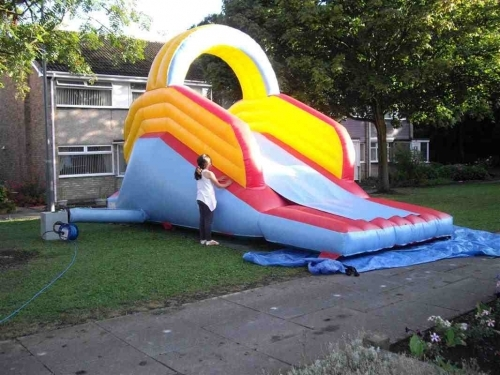 Up And Over Inflatable Slide Jpg 1
