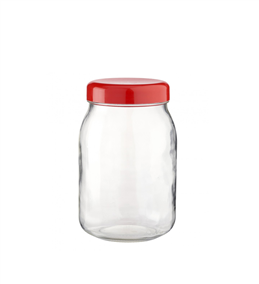Le Parfait Red Top Lid Storage Jar 1L