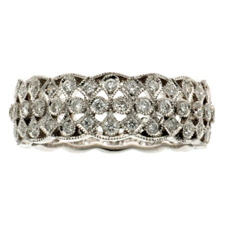 Diamond Set Band Ring