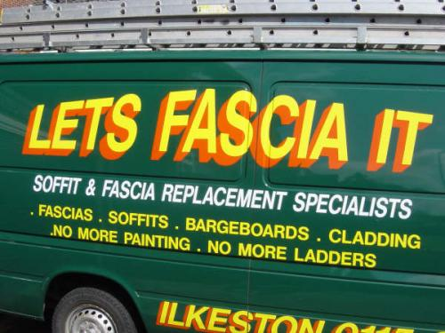 Lets Fascia It, Nottingham and Derby