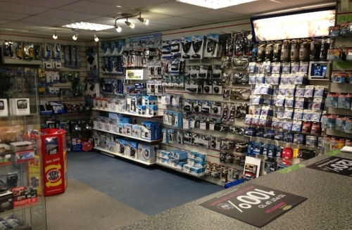In-store electrical display
