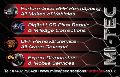 Digital mileage corrections @ Mi-tec electronics