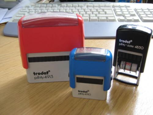 Rubber & Self Inking Stamps