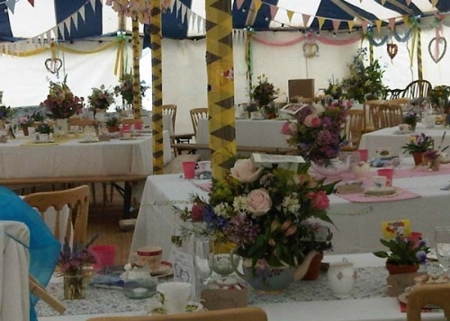 vintage wedding tent devon cornwall southwest