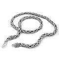 925 Sterling Silver Byzantine Necklace by Silver Nomad Jewellery UK