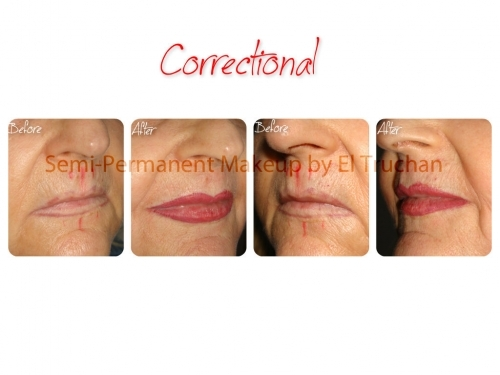 Semi Permanent Make Up - Corrective Lips by El Truchan @ Perfect Definition