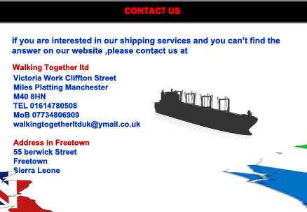 Ship broker in uk