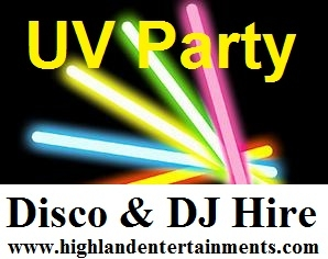 Teenage/childrens Party Disco Hire Inverness and The Scottish Highlands