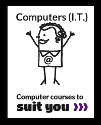 Computer tuition in Wigan, Warrington and St.Helens.