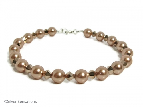 Pearls Crystals Bracelet
