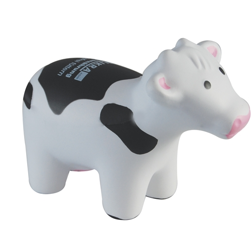 Cow Black White