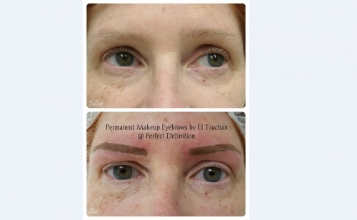 Microbladed Eyebrows By El Truchan @ Perfect Definition