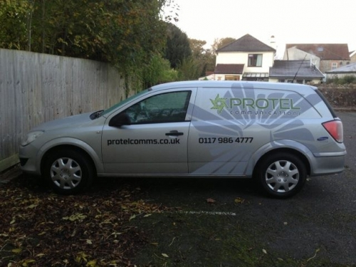 Protel Communications, Bristol - vehicle livery / wrap