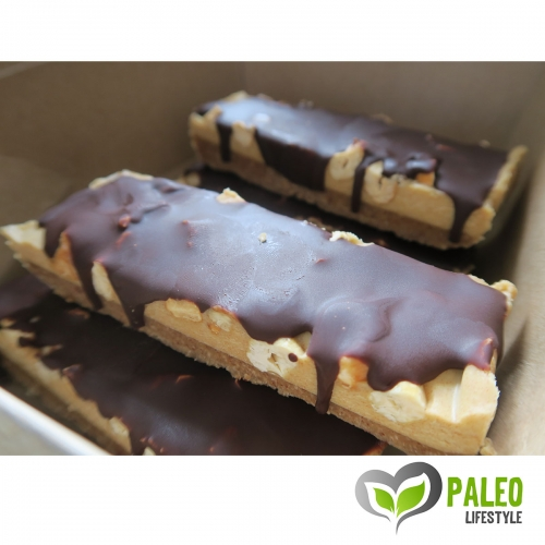 "Raw Vegan ""Snickers"" bars (6 bars)"