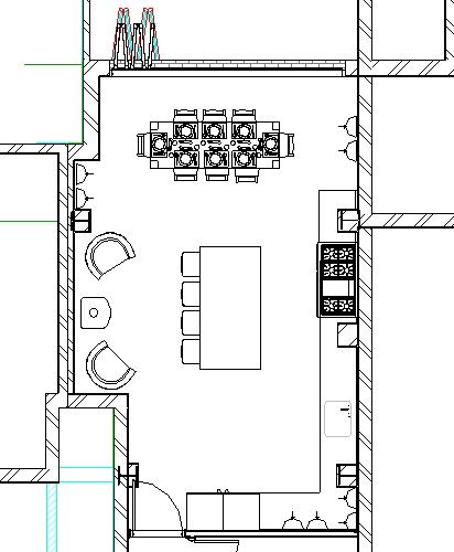 Residential Extension Revit Plan