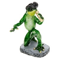 Tropical Elvis Frog 16 X 8 5cm