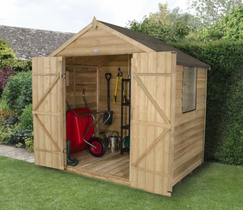 Gardensite garden centres in birmingham for Garden sheds built on site