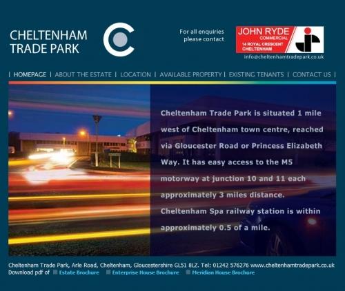 Cheltenhamtradepark Homepage