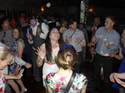 Getting into the groove at Essex party