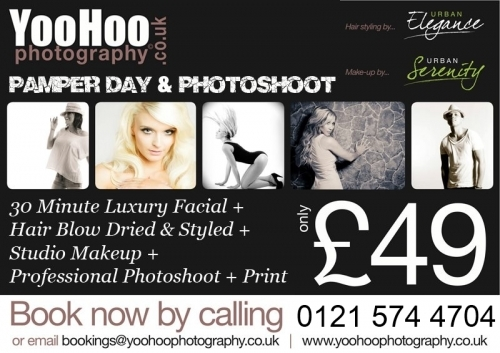 Makeover and Photoshoot Package