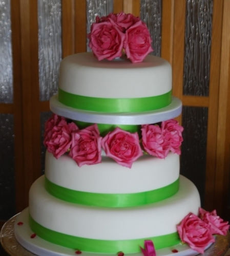 Eva Wedding Cake