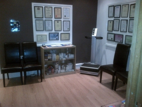 Welcome to Total Wellbeing, relax in our comfortable Waiting Room