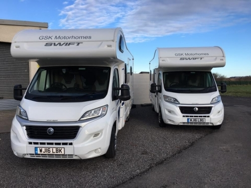 Our 696 and 686 Motorhomes