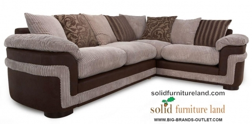 BRAND NAME corner sofas