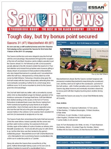Saxon News Eshot