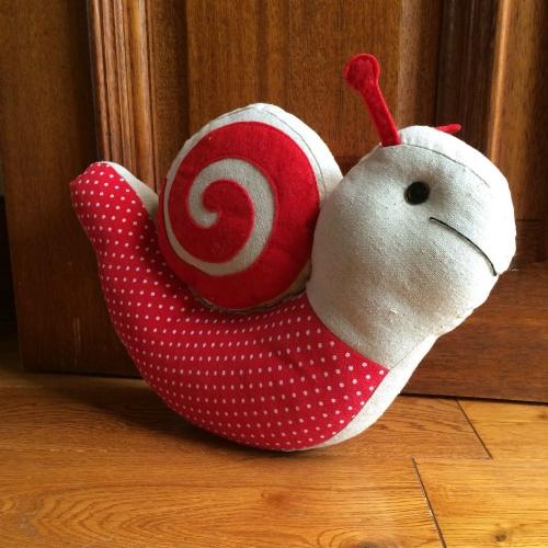 Snail Doorstop